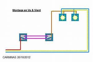 Branchement D Un Va Et Vient : installer va et vient pour deux lampes ~ Carolinahurricanesstore.com Idées de Décoration