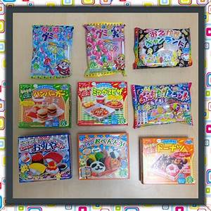 Kracie Popin Cookin Gummy Candy 9 Item Set A - JAPAN MANIA ...
