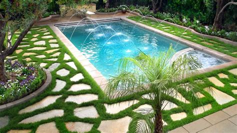 swimming pool landscaping ideas ideas  beautiful swimming pools youtube