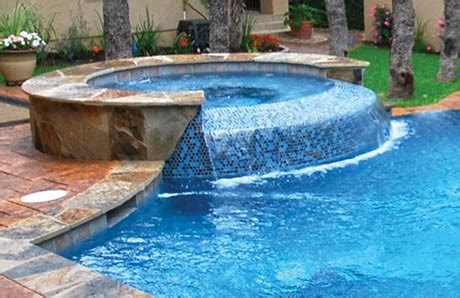 pool spa design trends  dam wallspillway stylesin