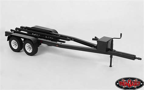 Rc Model Boat Trailers by Bigdog 1 10 Dual Axle Scale Boat Trailer