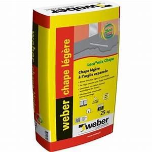 Chape Liquide En Sac : weber chape legere sac 25kg lecamix chape b ton all g ~ Dailycaller-alerts.com Idées de Décoration