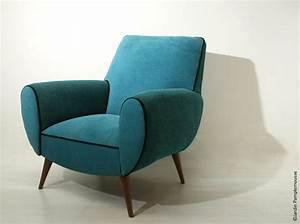 Fauteuil Bleu Canard : fauteuils des m lleux de toutes les couleurs inspiration deko ~ Teatrodelosmanantiales.com Idées de Décoration