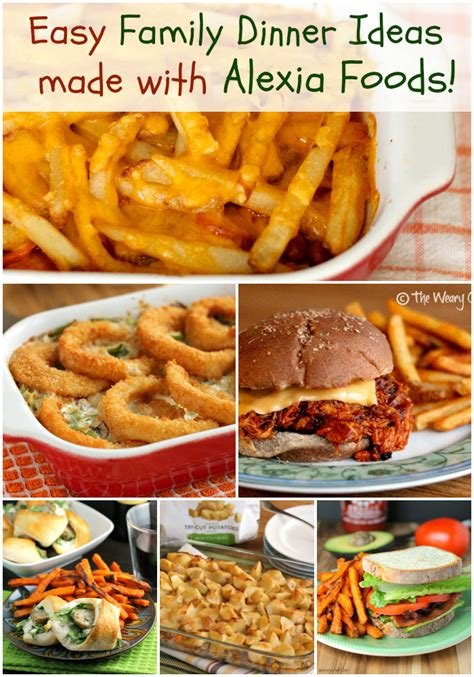 family meal ideas easy family dinner recipes with frozen fries potatoes and onion rings the weary chef