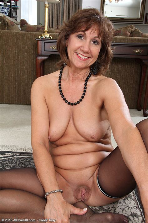 Elegant And Year Old Lynn From Allover Slips Off Her