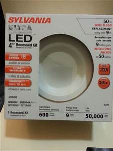 Sylvania led rt fl quot retrofit recessed