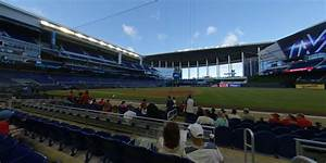 Section Fl3 At Loandepot Park Miami Marlins