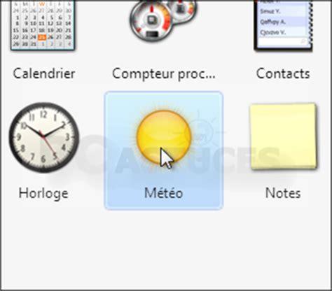 gadget bureau meteo gadget de bureau meteo 28 images afficher un gadget