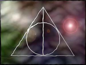 Pics For > Deathly Hallows Symbol Wallpaper