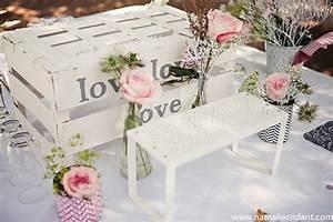 Deco Mariage Romantique : decoration mariage romantique vintage ~ Nature-et-papiers.com Idées de Décoration