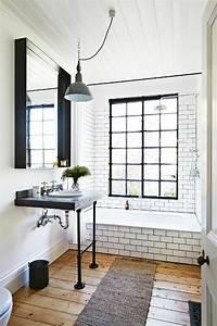 25 best ideas about salle de bain carrelage on pinterest With carrelage salle de bain vintage