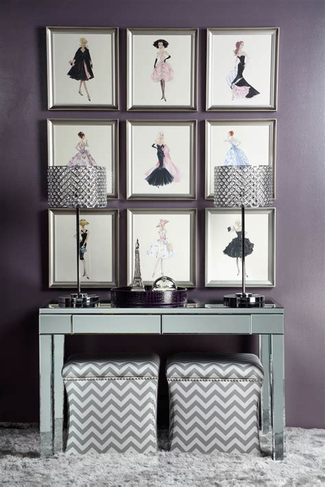 Bedroom Fashion by Fashion For Your Walls With Sketches And Mirrored