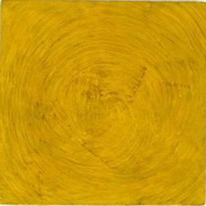 Martin Creed Work No 3 Yellow Painting 1986
