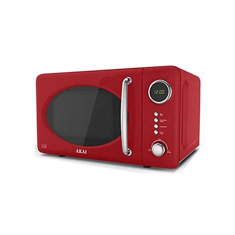 akai ar  digital microwave oven red