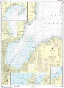 Nautical Charts Of Lake Huron Noaa Chart 14863