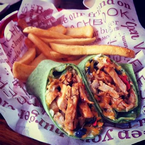 WHISKEY RIVER® BBQ CHICKEN WRAP - Red Robin Gourmet ...