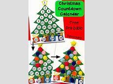 Christmas Countdown Printable Calendar » Calendar Template