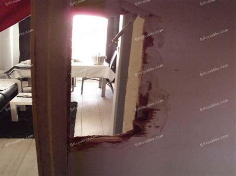 reparer un trou dans une porte reboucher un trou dans une porte de conception de maison