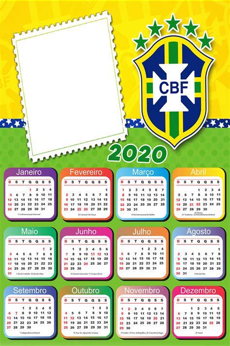 calendario brasil escudo cbf imagem legal