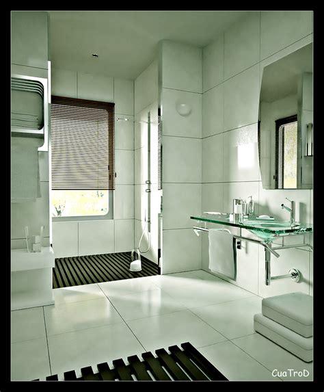 Accent walls can be a stunning addition to a bathroom. Bathroom Tile - 15 Inspiring Design Ideas
