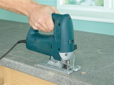 how to cut kitchen countertop for sink how to install a kitchen sink in a laminate or wood 9371