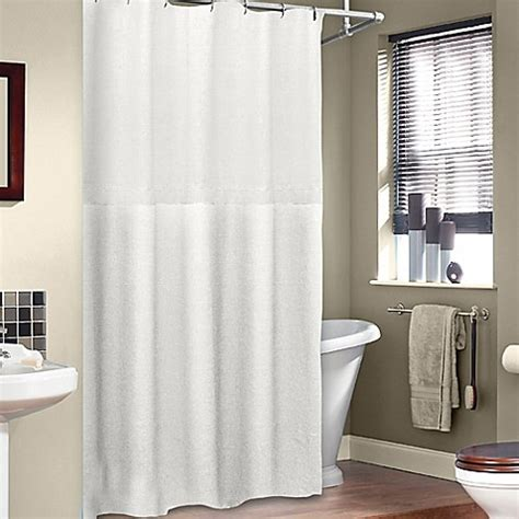 75 Shower Curtain by Buy Soho 72 Inch X 75 Inch Linen Shower Curtain In White