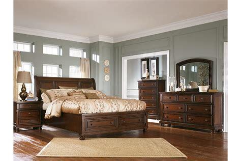 Porter King Sleigh Bed by Porter King Sleigh Bed Furniture Homestore