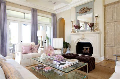 purple velvet tufted ottomans living room