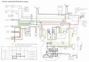Wiring Diagrams H2a  A7 W   Cdi  U0026 A7 W  Points