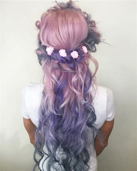 Hair In The Bright Hair Colors Category