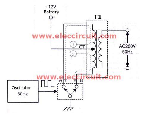 Inverter Circuit Using Mosfet