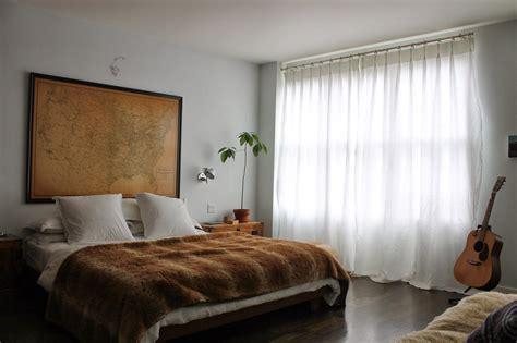 shingled house master bedroom curtains