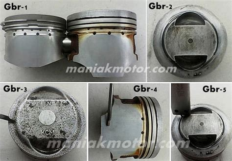 Cara Pasang Ring Piston Mio by Tips Motor Bore Up Mio Harian 150 Cc Pakai Piston Gl