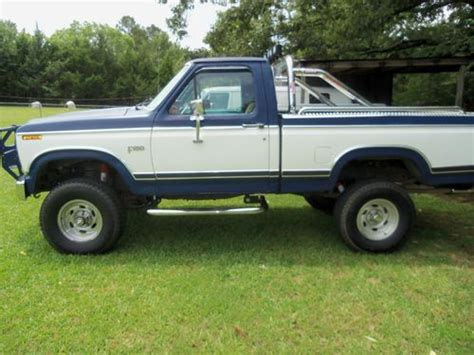 auto air conditioning service 1984 ford ranger electronic valve timing find used 1984 ford f 150 auto 302v8 swb 4wd lifted a c 2nd owner low miles in florence