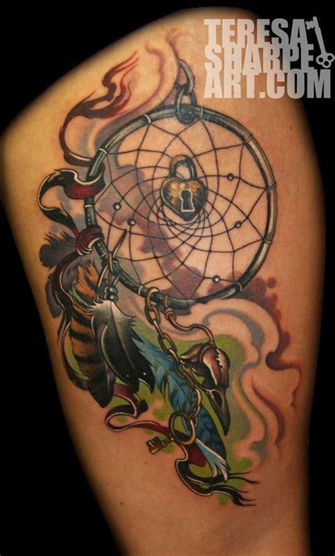beautiful dream catcher tattoo  women incredible snaps