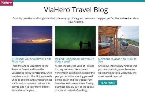 japanese travel blogs    read viahero