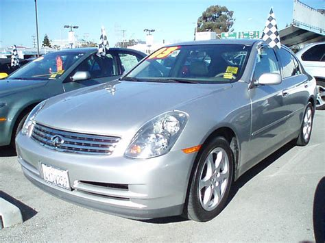 Mike Harvey Acura by Fs 2003 Infiniti G35 Sedan Silver Beig 19 988