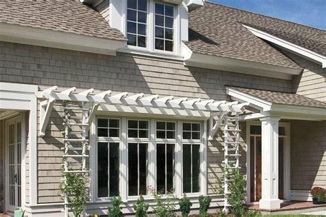 outdoor products  brighten  curb appeal house front casement windows diy awning