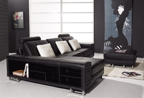 Modern Leather Furniture by Modern Leather By Vig Furniture