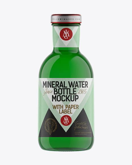 Psd file, with smart objects adjustable layers google fonts included 10 marble backgrounds support if needed. Green Glass Bottle with Dark Drink Mockup - Green Glass ...