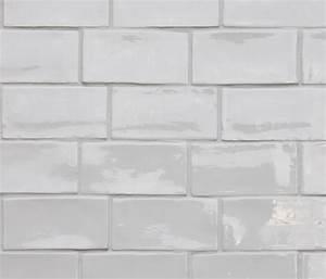 BETONBRICK WALL WHITE GLOSSY - Ceramic tiles from ...