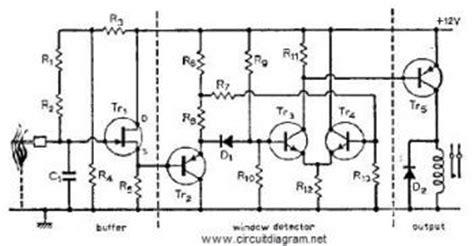 Gas Sensor Circuit Page Sensors Detectors Circuits
