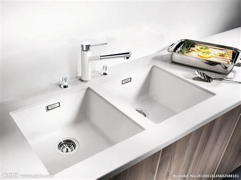 white kitchen sink 厨房厨具流理台样板摄影摄影图 餐具厨具 餐饮美食 摄影图库 昵图网nipic 1291