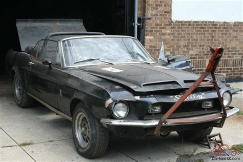 ford shelby mustang gt  convertible  big block