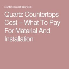 1000 ideas about quartz countertops cost on