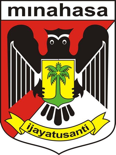 logo kabupaten minahasa kumpulan logo lambang indonesia