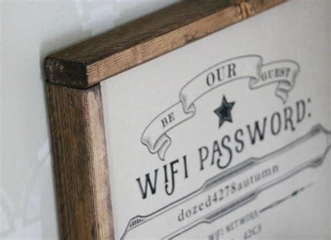 remodelaholic  editable guest wifi printable