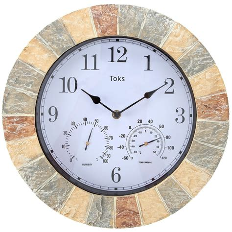 outdoor wall clock and thermometer a of history with outdoor wall clocks cool 7248