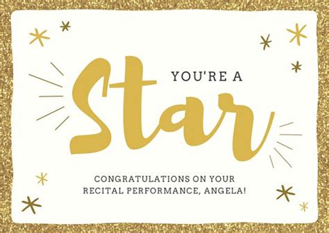 congratulations template golden congratulations card templates by canva