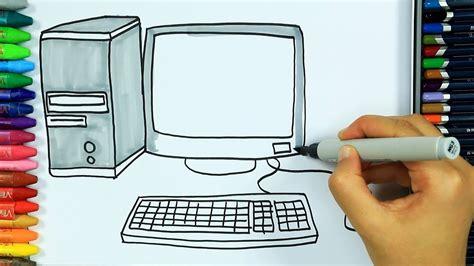 Dibujos para pintar y colorear 🖥 Cómo dibujar